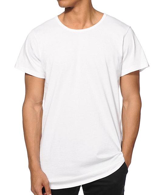 EPTM. Basic Drop Tail Long T-Shirt | Zumiez