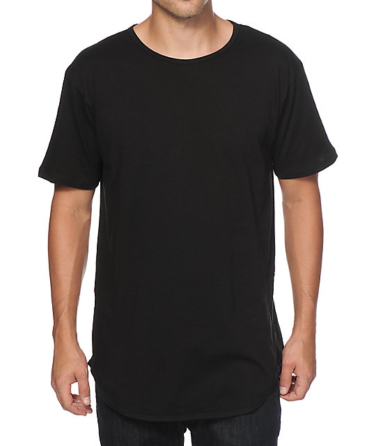 EPTM. Basic Elongated Drop Tail Long T-Shirt at Zumiez : PDP