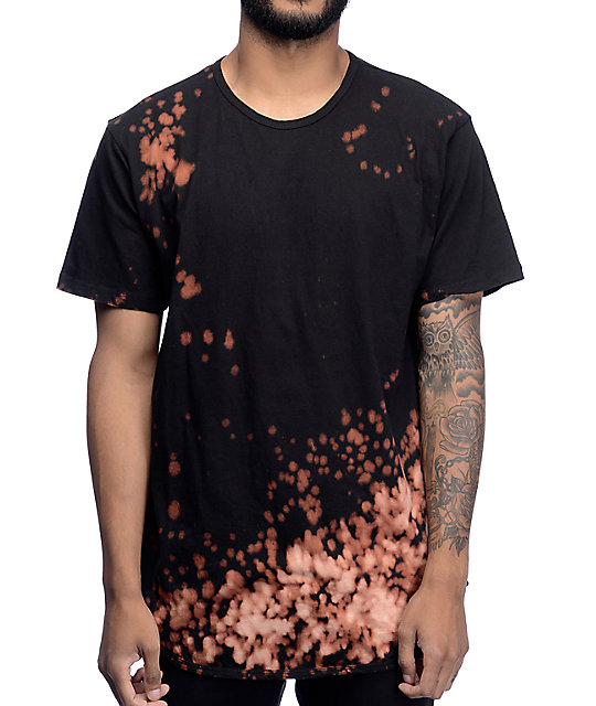 EPTM. Bleach OG Black Elongated T-Shirt | Zumiez