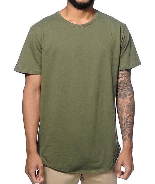Elongated Basic Long T-Shirt