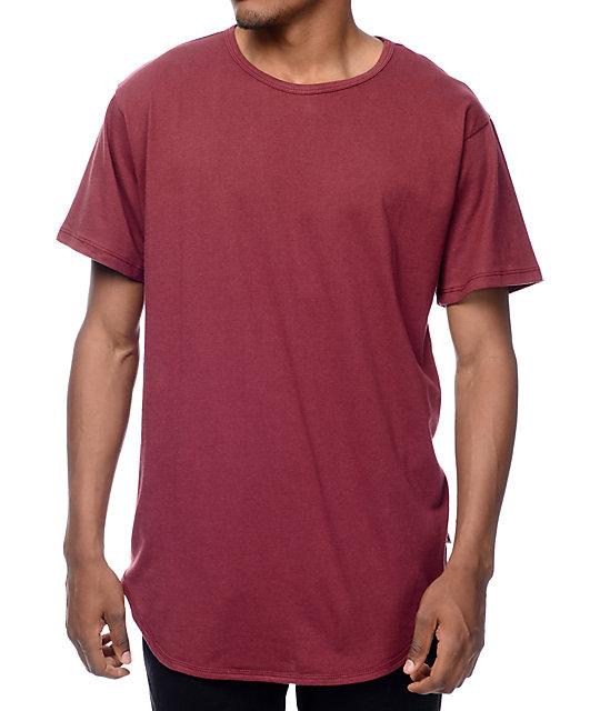 OG Burgundy Elongated T-Shirt