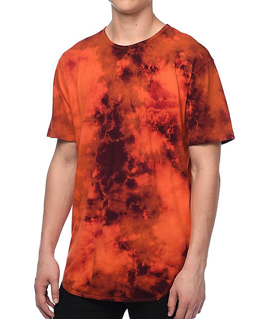EPTM. OG Rust Dye Elongated T-Shirt