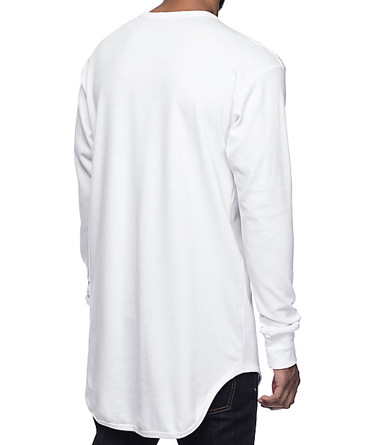 Eptm og thermal white long sleeve t shirt zumiez for White thermal t shirt