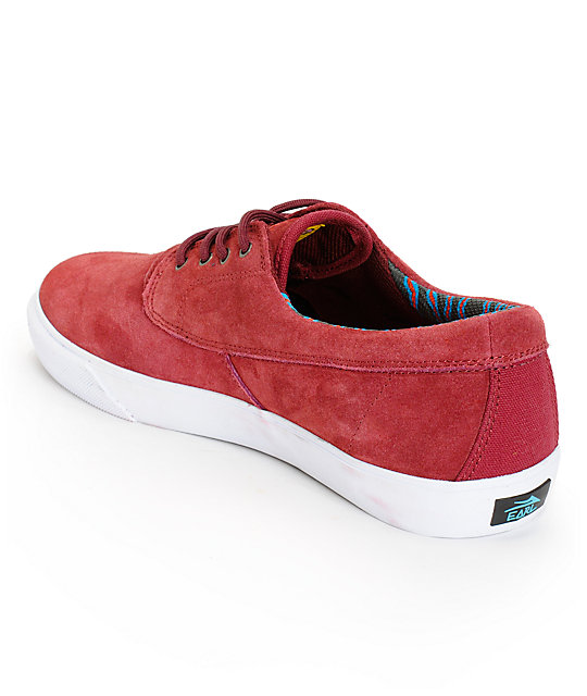 Earl Sweatshirt x Lakai Camby Port Suede Skate Shoes