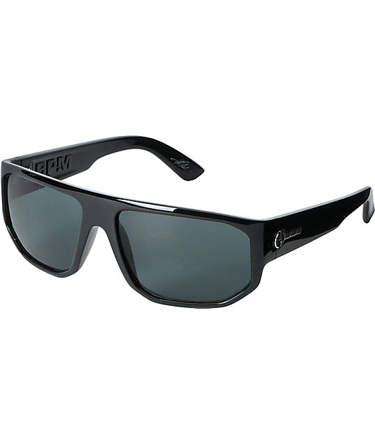 Electric BPM Gloss Black & Grey Sunglasses