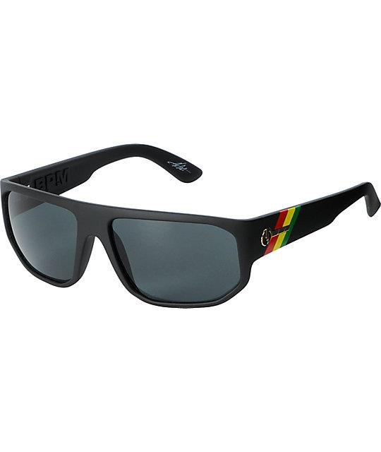 Electric BPM Matte Black & Tweed Sunglasses