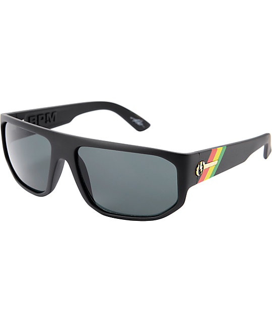Electric BPM Matte Black Tweed Sunglasses