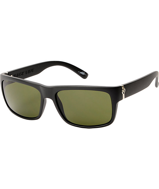 Electric Back Line Matte Black Sunglasses