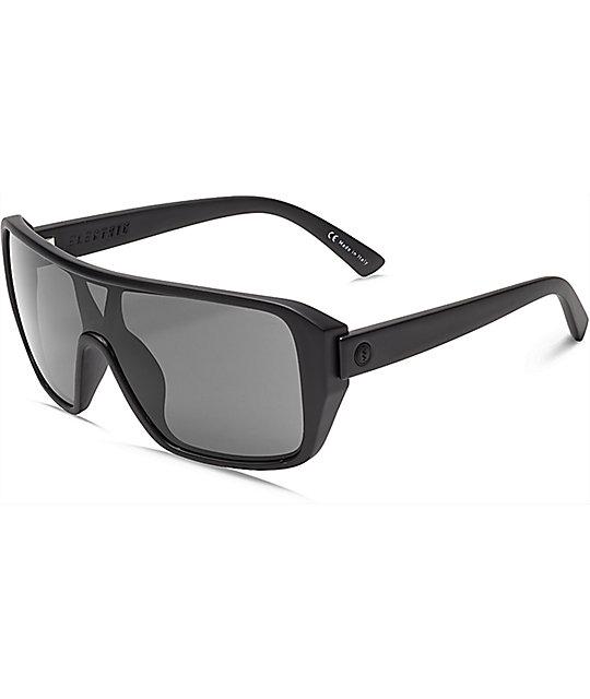 electric sunglasses  Electric Blast Shield Matte Black \u0026 Grey Sunglasses at Zumiez : PDP