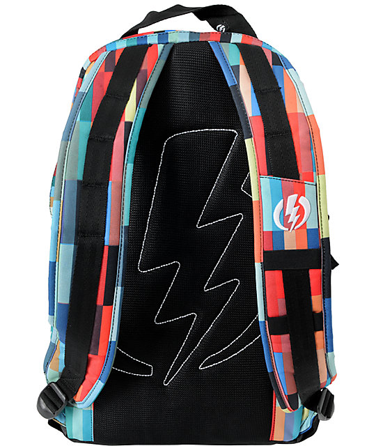 Electric Caliber Digital Stripe Laptop Backpack