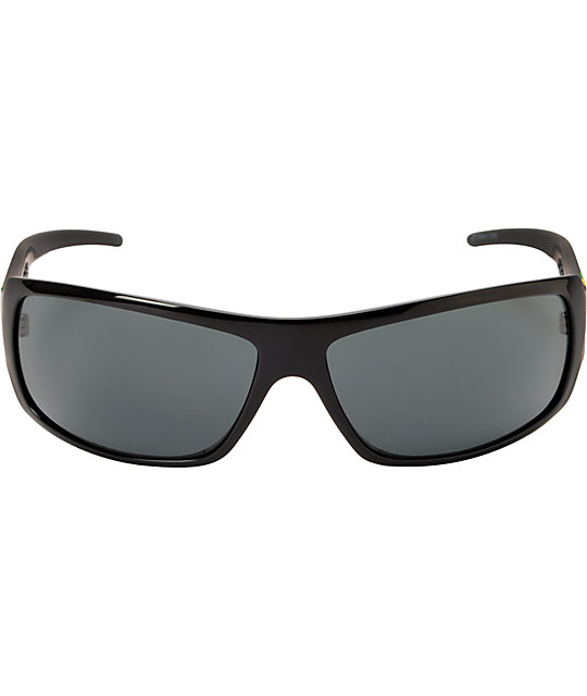 Electric Charge Black Tweed Sunglasses