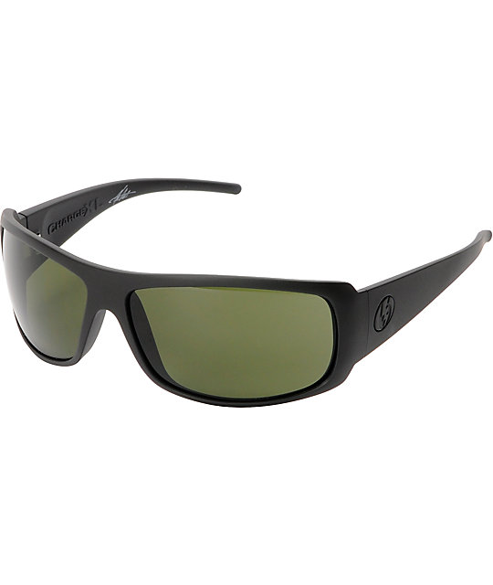 Electric Charge XL Matte Black & Grey Sunglasses