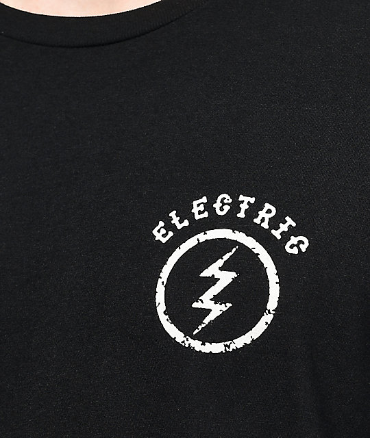 Electric Circle Bolt camiseta negra