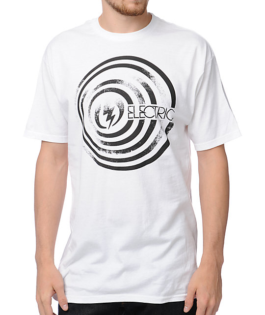 Electric Down White T-Shirt