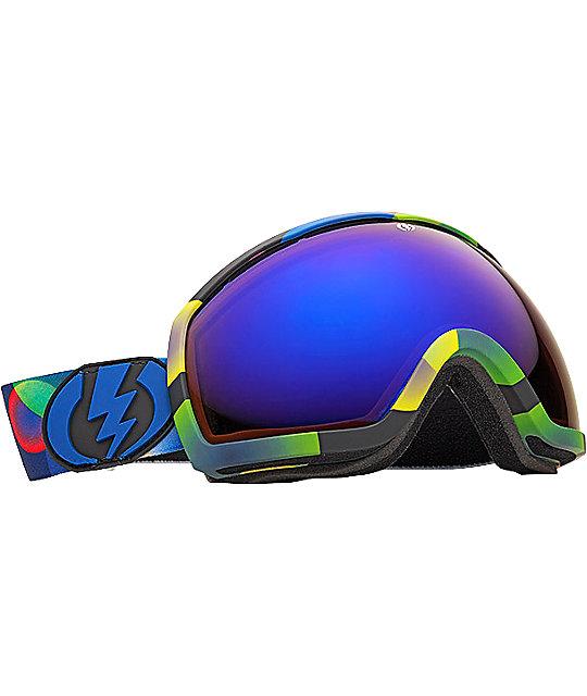 Electric EG2 Atmosphere Bronze & Blue Chrome Snowboard Goggles