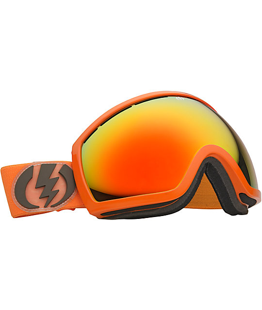 Electric EG2 Blood Orange Bronze & Red Snowboard Goggles