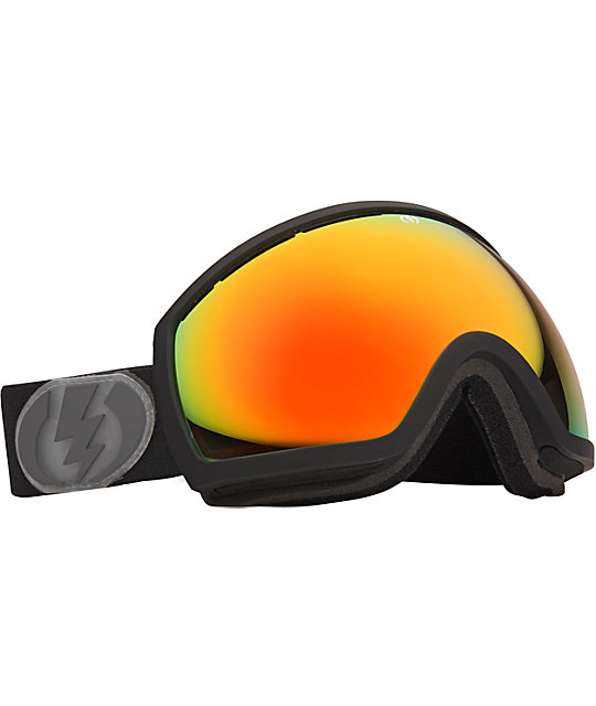 Electric EG2 Missile Exhaust Bronze & Red Snowboard Goggles