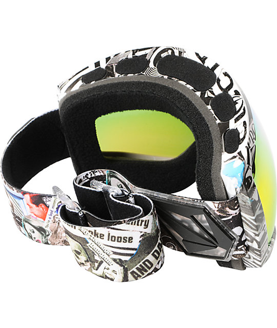 Electric EG2 V.Co-Lab Print Snowboard Goggles