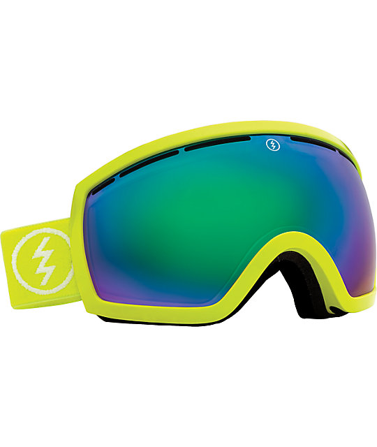 Electric EG2.5 Toxic Snot Green Snowboard Goggles at ...