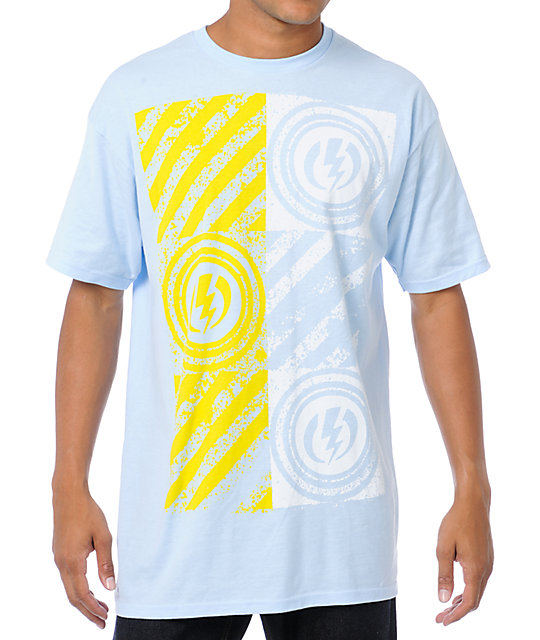 Electric Hazard Blue T-Shirt