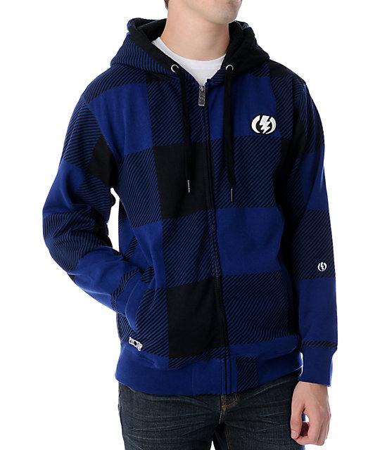 Electric Hydrostich Blue Tech Fleece Jacket