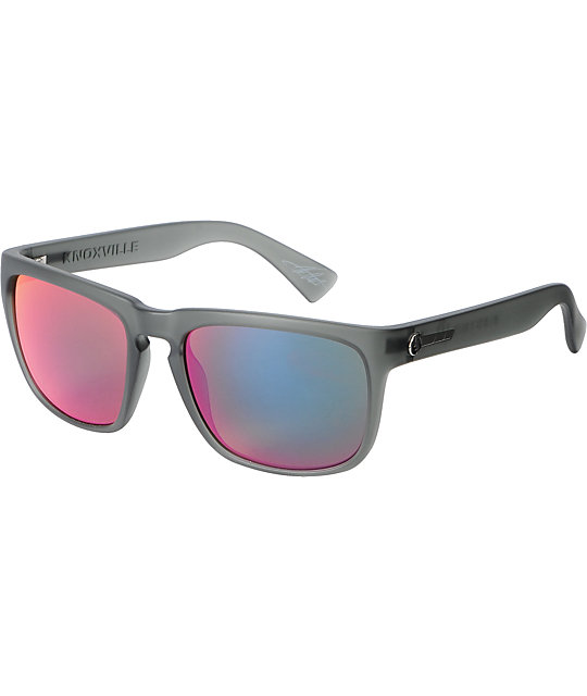 Electric Knoxville Ash Grey & Plasma Chrome Sunglasses