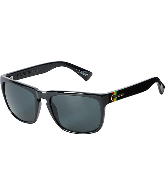 Electric Knoxville Black Tweed & Grey Sunglasses