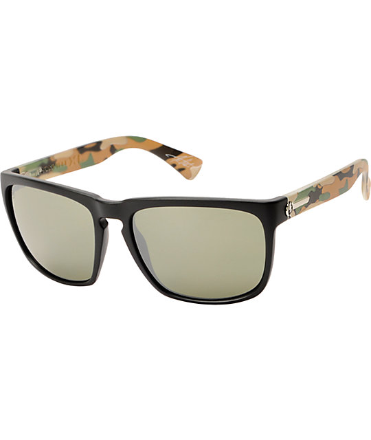 Electric Knoxville XL Black & Jungle Camo Sunglasses