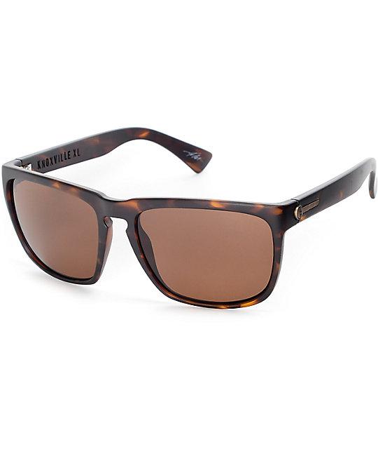 Electric Knoxville XL Matte Tortoise Shell & Bronze Sunglasses