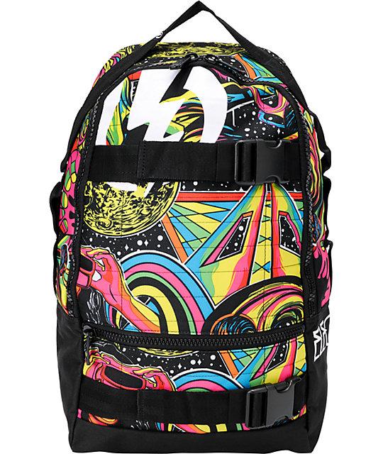 Electric MK2 Blurred Print Skate Skate Backpack