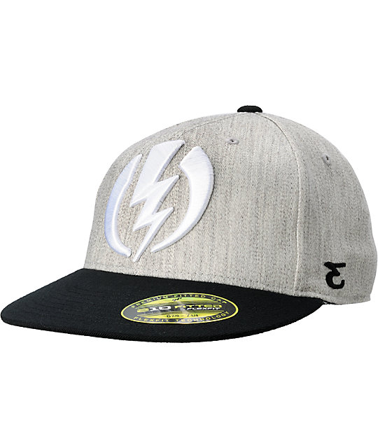 Electric Major Volt Heather Grey Hat