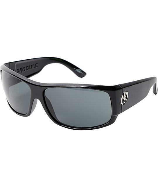 Electric Module Gloss Black & Grey Sunglasses