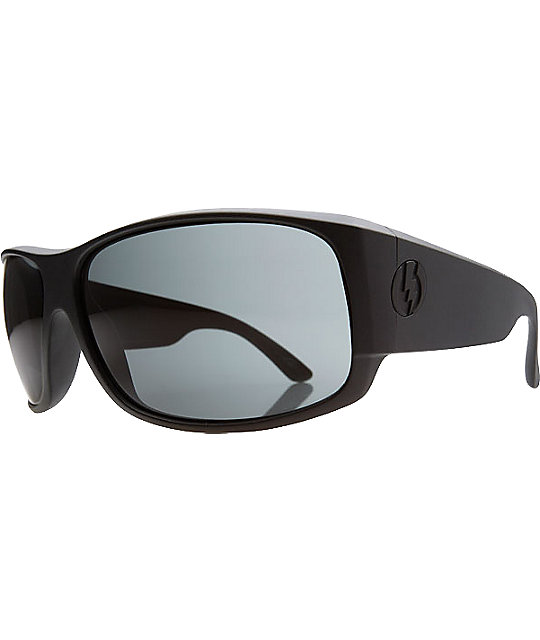 Electric Module Matte Black & Grey Sunglasses