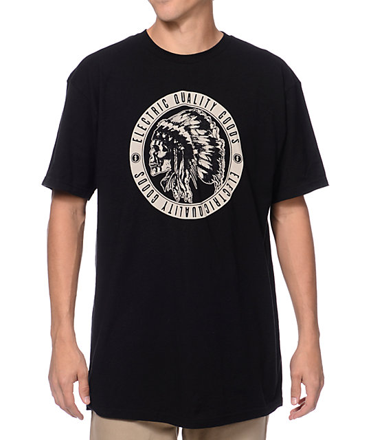 Electric New Chief Black T-Shirt