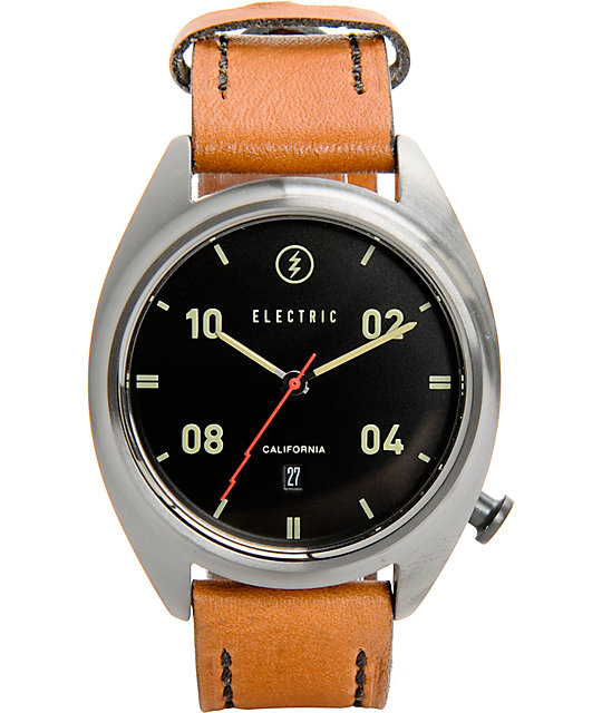 Electric OW01 Leather Analog Watch