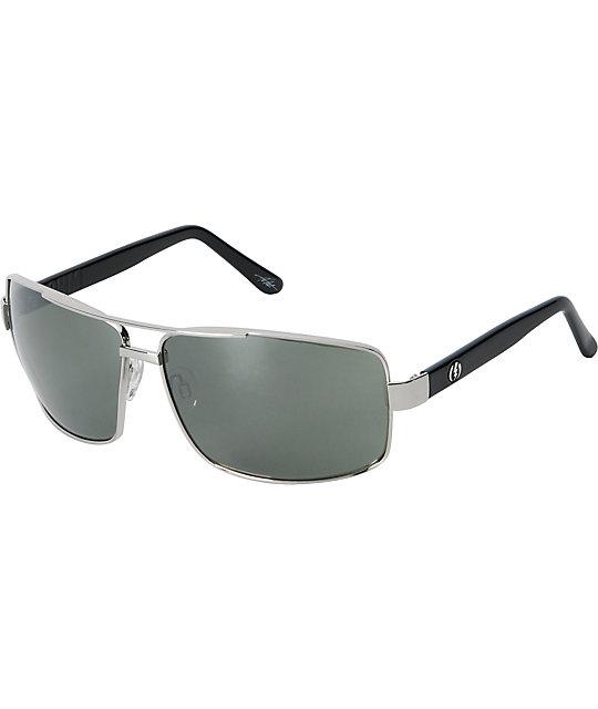 Electric Ohm Platinum & Grey Chrome Sunglasses