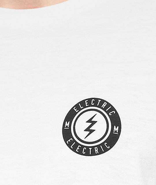 Electric Proud White Long Sleeve T-Shirt