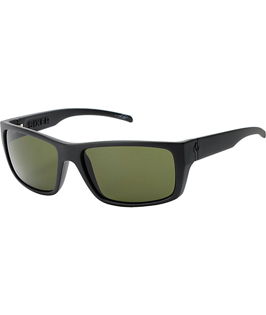 Electric Sixer Matte Black & Grey Sunglasses