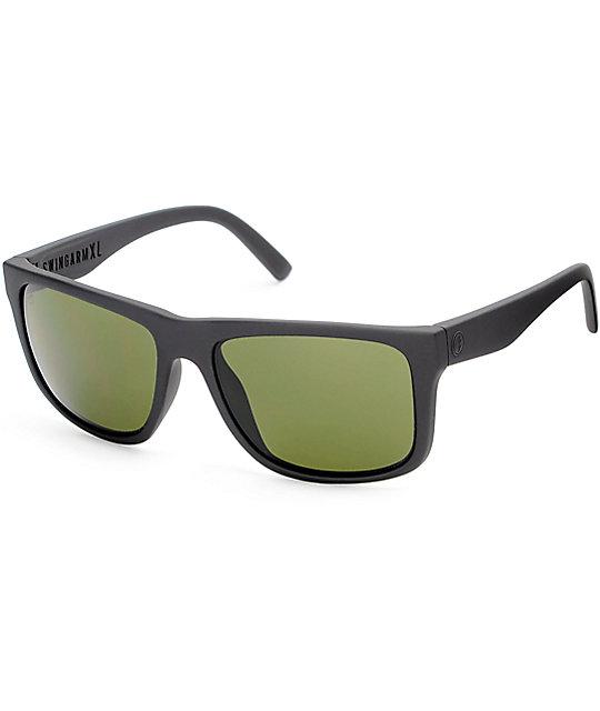 Electric Swingarm XL Matte Black & Grey Sunglasses