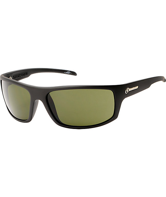 Electric Tech One Matte Black Sunglasses