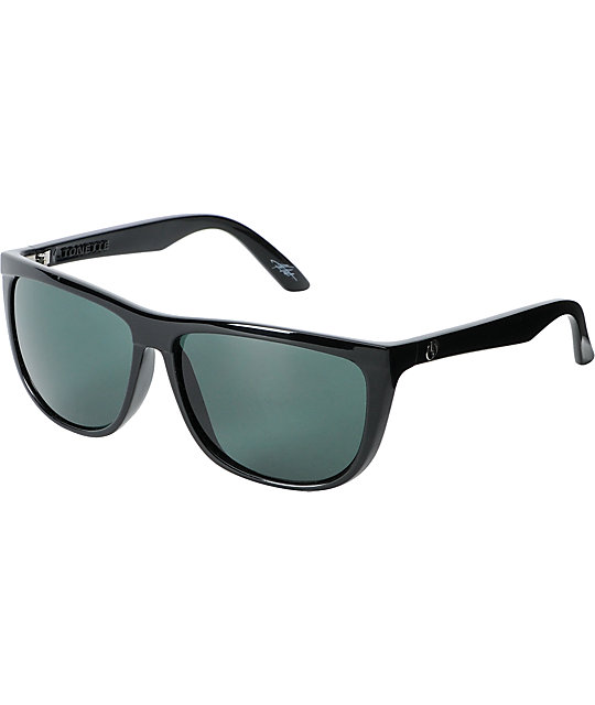 Electric Tonette Black Gloss Sunglasses