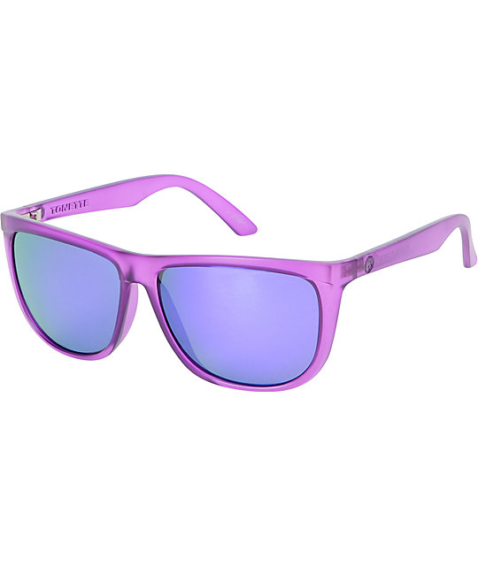 Electric Tonette Phantom Purple & Grey Sunglasses