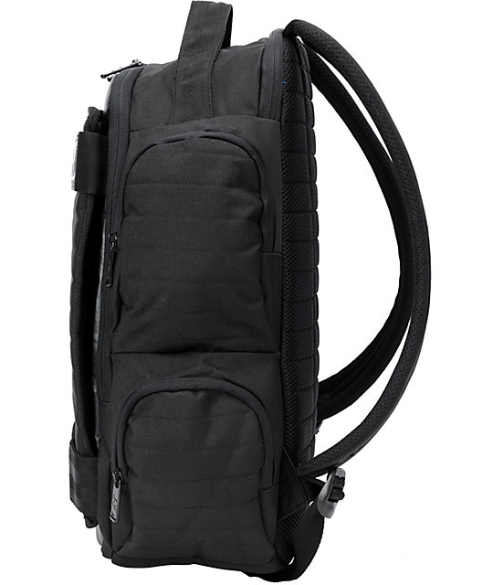 Electric Transmission Black Skate Backpack