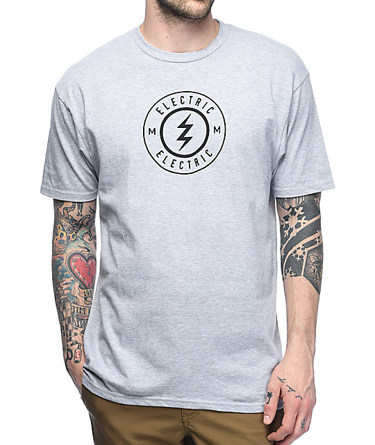 Electric Voltage Grey T-Shirt