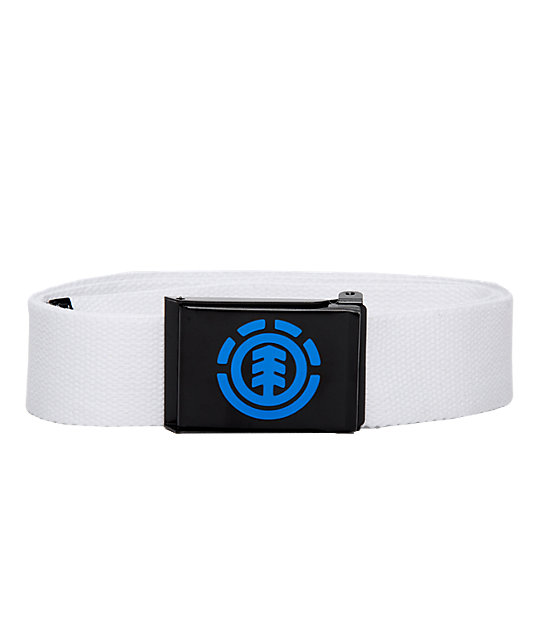 Element Anti Matter White Web Belt