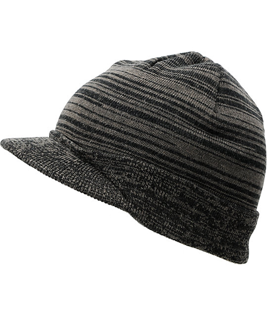 Element Arapahoe Charcoal Visor Beanie