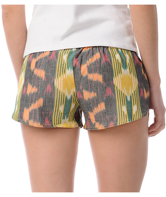 Element Bolero Lime Woven Shorts