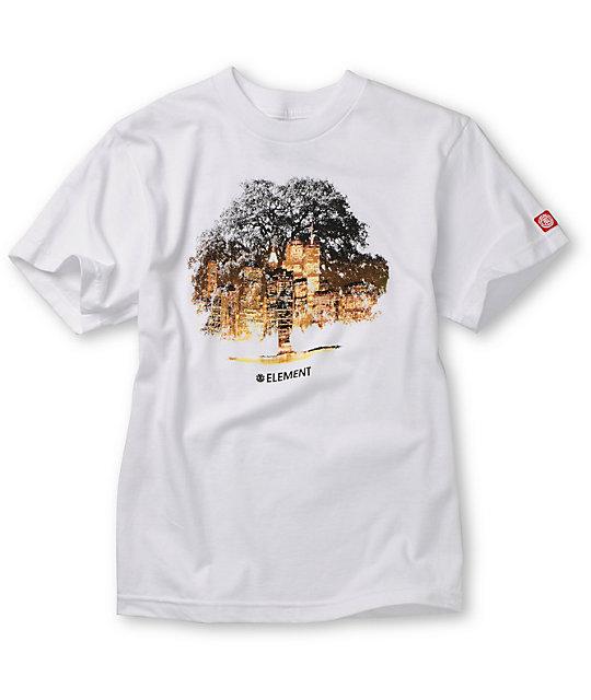 Element Boys Ambition White T-Shirt