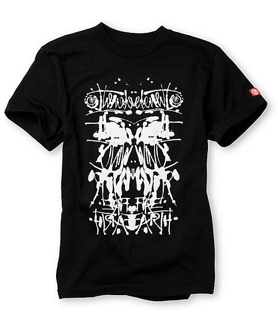 Element Boys Analize Black T-Shirt