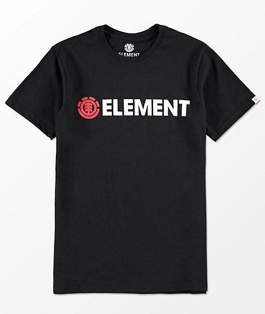Element Boys Blazin' Black T-Shirt